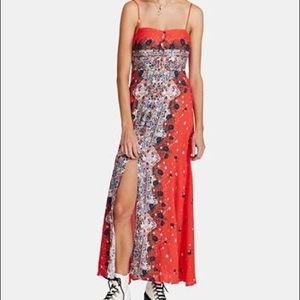 Free People Morning Song Maxi Dress-NWT-Medium